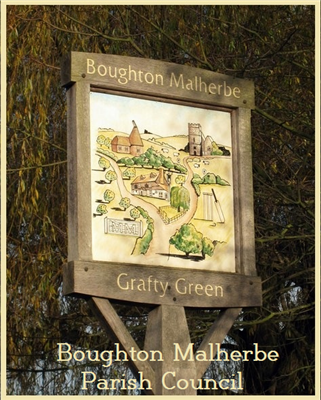 Boughton Malherbe Parish Council Logo